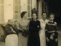 Cortile di Casa Nebiolo Anno 1950 circa